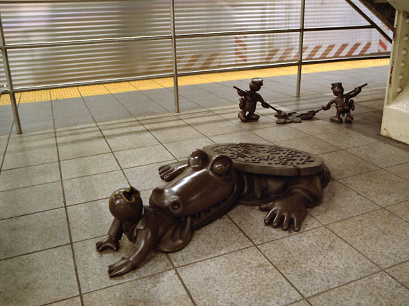 Tom Otterness    /    Art in Public Places & Creative Time, New York
