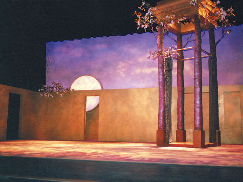 Twelth Night Stage Set, New York